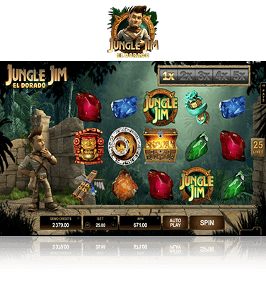 Jungle Jim El Dorado Game