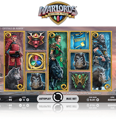 Warlords Crystals of Power Game