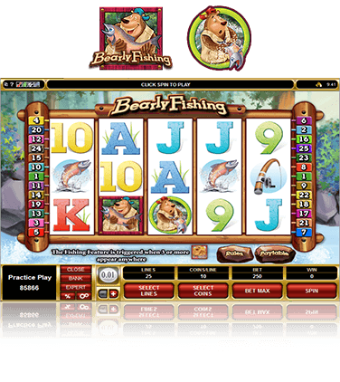 Bearly Fishing Game