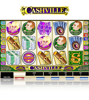 Microgaming Cashville Game