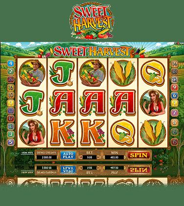 Microgaming Sweet Harvest Slot Tournament Running Wild