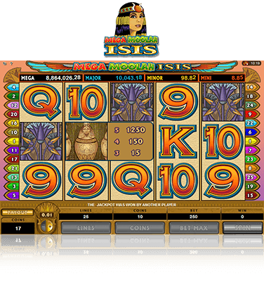 Mega Moolah Isis Play For Free Real Money Offer 2020