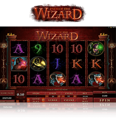 Path of the Wizard Game