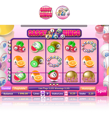 Sassy Bingo™ Slot Machine Game to Play Free in Microgamings Online Casinos