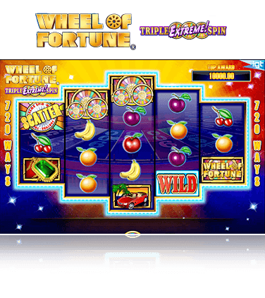 IGT Wheel of Fortune: Triple Extreme Spin Game