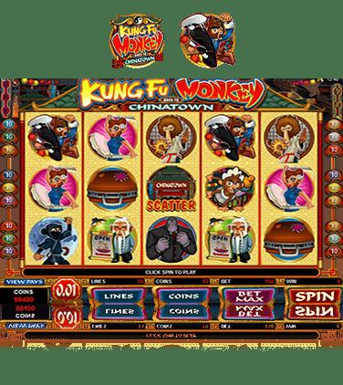 Kung Fu Monkey Game