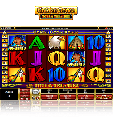 Golden Goose Totem Treasure Game