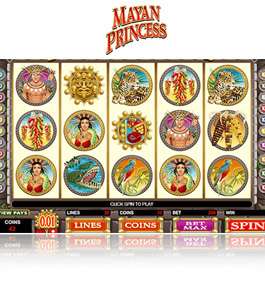 Microgaming Mayan Princess Game
