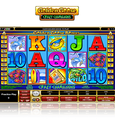 Golden Goose Crazy Chameleons Game