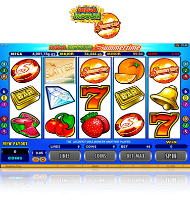 Mega Moolah Summertime Game