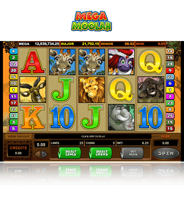 Mega Moolah Isis Slots - Try the Free Demo Version
