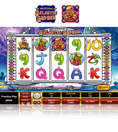 Galactic Gopher Slot Game