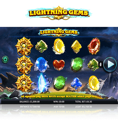 Lightning Gems Game