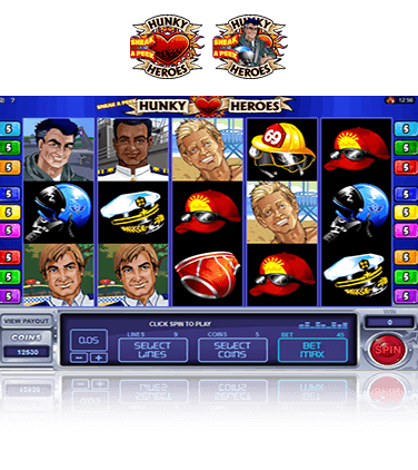 Hunky Heroes Slot Game