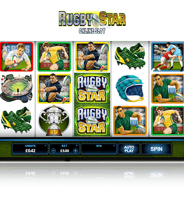 Microgaming Rugby Star Game