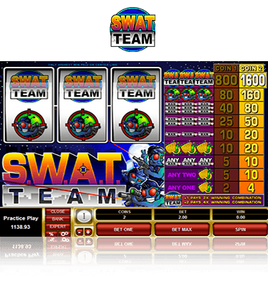 SWAT Team Slot Game