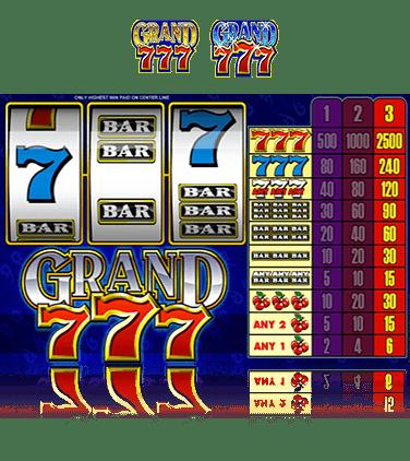 casino 777 gratuit Slot