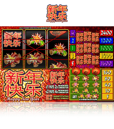 Happy New Year Slot Game
