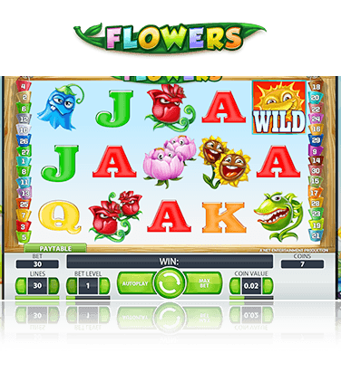 NetEnt Flowers Game