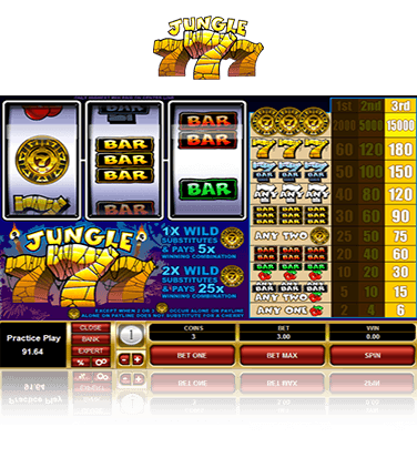 Jungle 777 Game